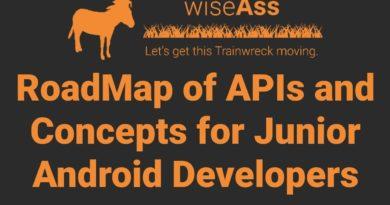 RoadMap for Junior Android Developers - APIs, App Ideas, Resources, and Portfolio Building