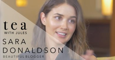 Tea with Jules with Fashion Blogger Sara Donaldson from Harper and Harley Blog