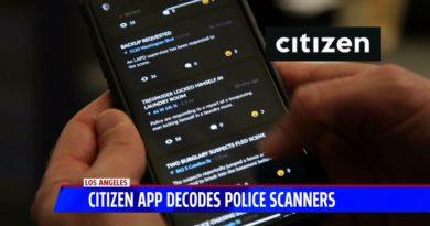 Tech Smart Citizen police scanner app