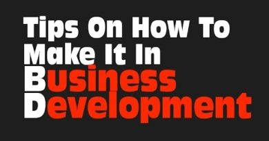 Tips On How To Make It In Business Development