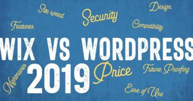 Wix vs Wordpress: Which platform is best in 2019?