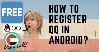 how to register qq using android