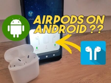 ANDROID AirPods Battery % Tap/Squeeze Music Control (Pro, 2G, 1G) Cheap