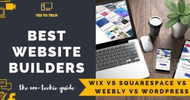 BEST WEBSITE BUILDER FOR BLOGGING IN 2020 (Wix vs Squarespace vs Weebly vs WordPress For Blogging)
