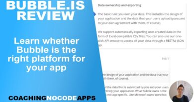 Bubble.is Review: Is Bubble the Right No-Code App Builder for You?