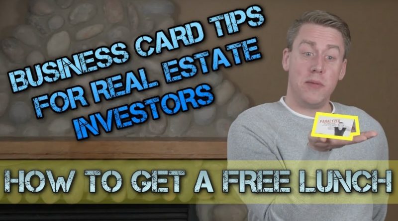 Business Cards For Real Estate Investors: Tips To Make A Memorable Impression!