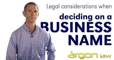 Business Names - Tips from a Lawyer when naming your business :: Argon Law Sunshine Coast