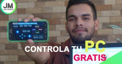 Controla la PC con esta App remota desde tu Android (Joystick + Mouse + Teclado + Mas)