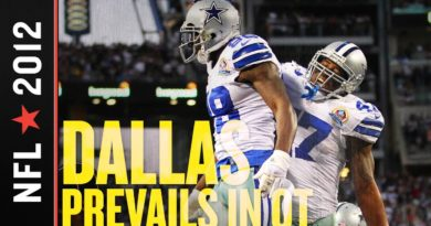 Cowboys vs Steelers 2012: Dallas Bolsters Playoff Chances with Comeback Overtime Win