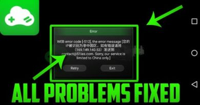 Gloud Gaming Apk (China) Problem Fixed On Android (2018)