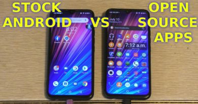 Google Android Stock Apps VS Open Source F-Droid Benchmark Battery Test UMIDIGI F1 Play