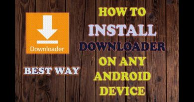 HOW TO INSTALL DOWNLOADER APK ON ANDROID TV BOX & ALL DEVICES