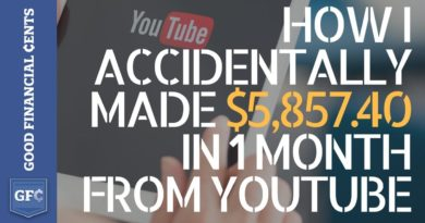 How I Accidentally Made $5,857.40 in 1 Month from YouTube ¯_(ツ)_/¯
