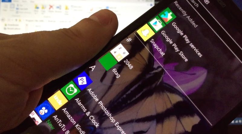 How To Install Google Play Services on Windows 10 Mobile