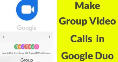 How To Make Group Video Call In Google Duo For Android Mobile & Ios-2019