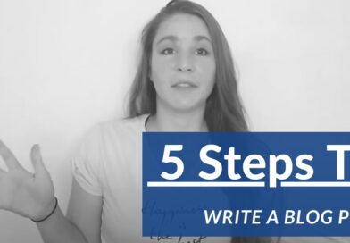 How To Write A Blog Post In Five Easy Steps For Beginners