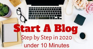 How to Create A Website or WordPress Blog in 10 Minutes? (2020)