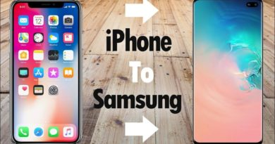 How to Easily Transfer All Data from iPhone to Samsung Galaxy S10, data transfer iPhone to Android