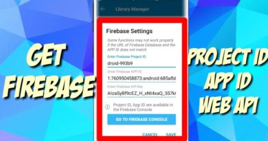 How to Get Firebase App ID and Project ID on Any Android Device   Innocent Droid Official