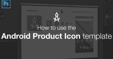 How to Use the Android Product Icon Template