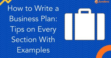 How to Write a Business Plan: Tips on Every Section With Examples