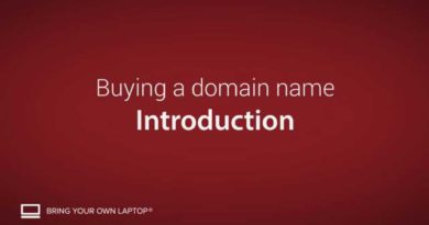 How to buy a domain name for your small business - Buying a domain name [1/9]