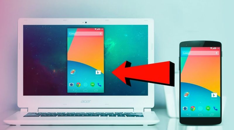 Mirror/Cast Your Android Screen to a Windows 10 PC!