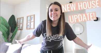 SETTLING INTO OUR NEW HOUSE! move in and clean with me