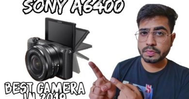 Sony Alpha A6400 | New Camera | Best For Blogging