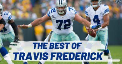 The Best Travis Frederick Highlights | Film Room | Blogging the Boys