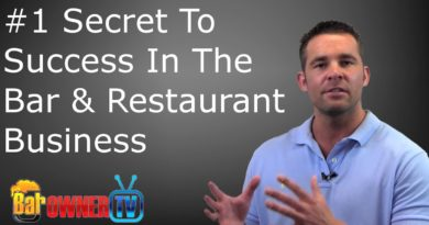 The Number 1 Success Secret To Bar & Restaurant Business
