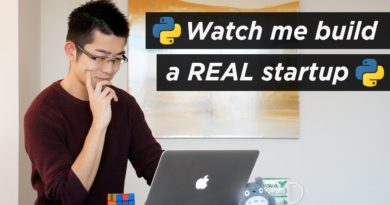 Watch me build a real startup with Python and JavaScript   Web Development   Build A Startup #1