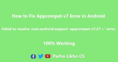 failed to resolve :com.android.support :appcompat-v7:27.+'-error 2018 android studio tutorial