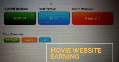 [300$] My earning proof of POPAds 2020 ; Movie website strategy Blogging