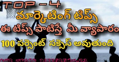 4 Best marketing tips for your business|sales skills|Telugu|kvr think different-24
