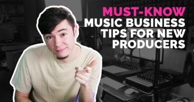 5 Music Business Tips I Wish I Knew When First Starting Out 2018 - Julian Talks