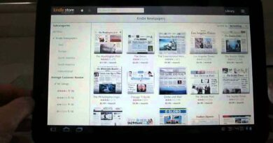 Amazon Kindle app for Android tablets