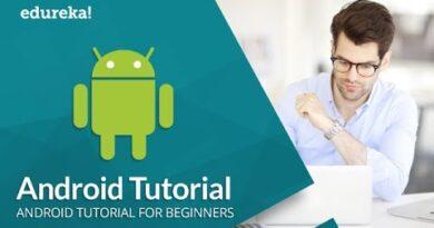 Android Tutorial For Beginners | Android Studio Tutorial | Android App Development | Edureka