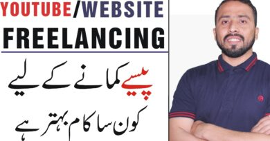 Blogging vs Youtube Vs Freelancing || Which One is better For Making Money Online in Pakistan