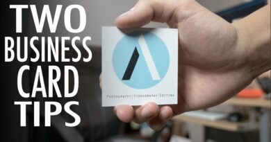Business Card Tips for Freelancers! | Quick Tip