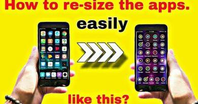 Change android app icon size |app ka size chota kaise kare |
