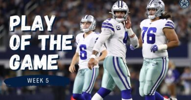 Cowboys Keep Fighting with Michael Gallup TD | Play of the Game | Film Room