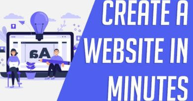 Create A Website In Minutes - Wix Platform 2020 (Blogging Site, E-Commerce) 100% Beginner Friendly!