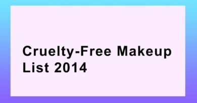 Cruelty free Makeup - Beauty should not be Torture