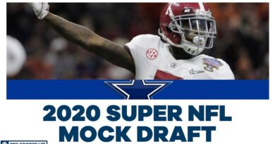 Dallas Cowboys REPLACE Byron Jones, draft Trevon Diggs No. 17 | 2020 Super NFL Mock | CBS Sports HQ