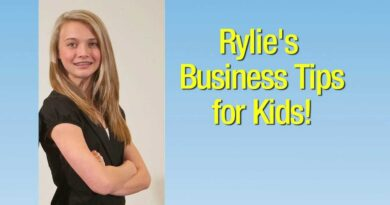 Episode 2: 14 year old Rylie's Business Tips for Kids...as seen on Million Dollar Butterflies TV
