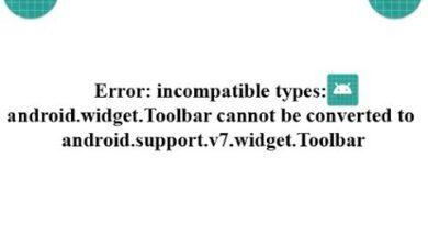 Fix Widget Toolbar Error in Android Studio