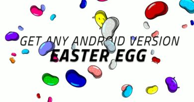 Get any Android version Easter egg...