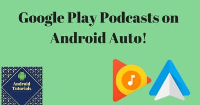 Google Play Podcasts on Android Auto