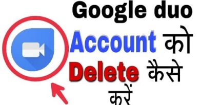 How To Deactivate And Detele Google duo Account on Android